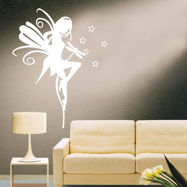 Butterfly Fairy Home Decor Wall Sticker Decal On Luulla